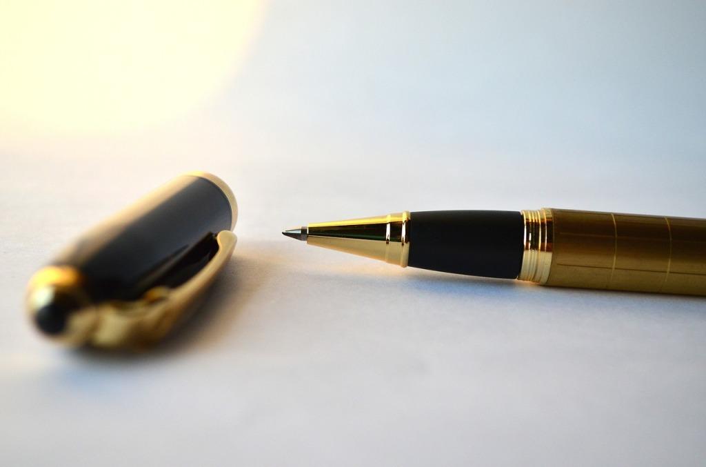 Zdjęcie długopisu