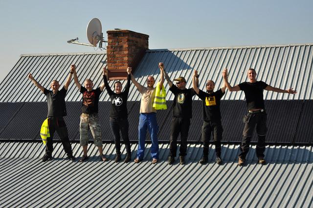 Ekipa na dachu