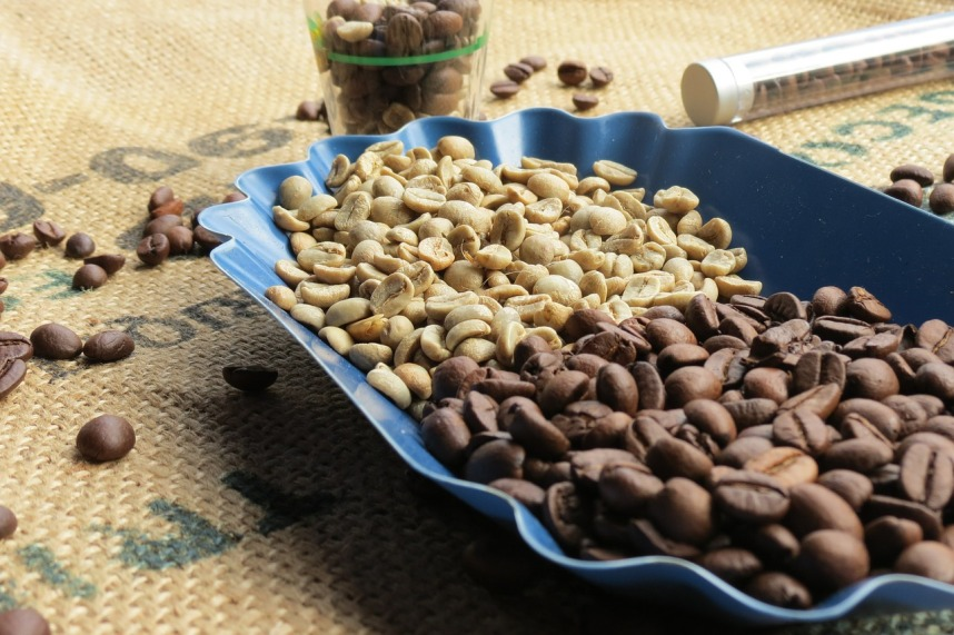 Ziarna kawowe