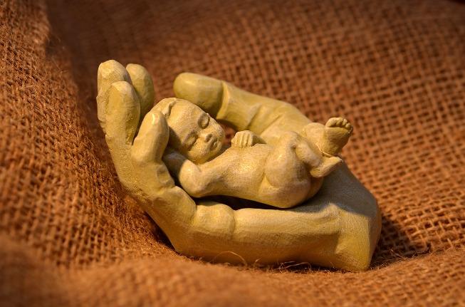 Dziecko - rzeźba