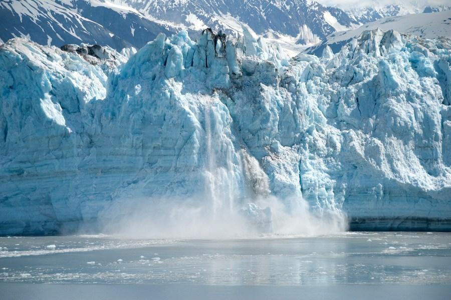 alaska - lodowiec