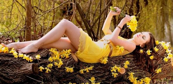 Dziewczyna - wiosna